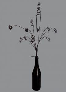 Composizione in filo di ferro